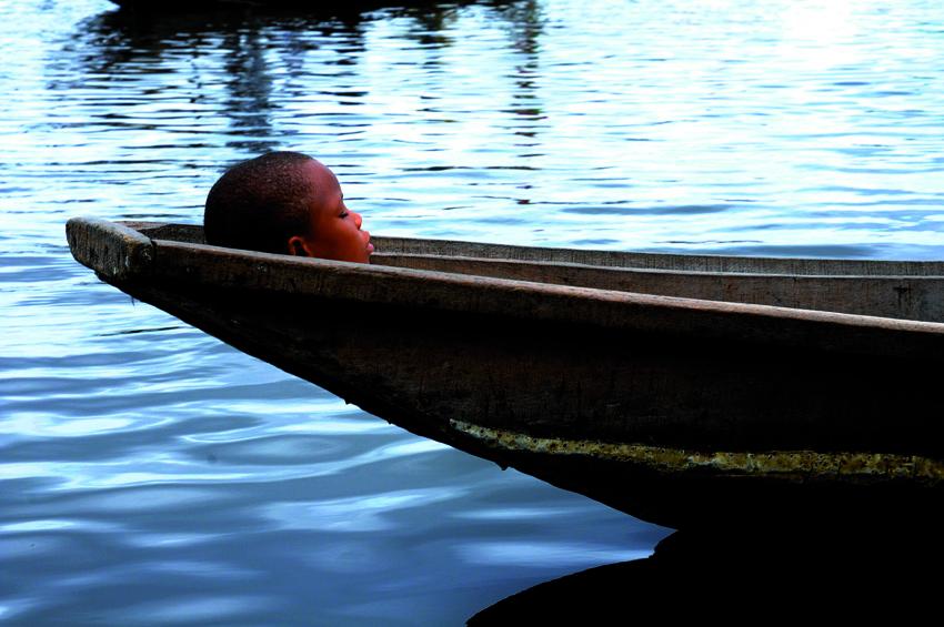 Paisible et calme comme le murmure de l'eau, Ganvié 2013