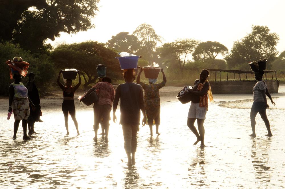 Retour de la pêche, Palmarin, Sénégal 2015