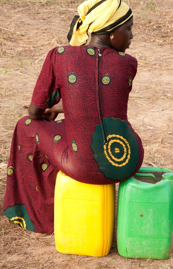 La gardienne d'eau, Tambacounda, Sénégal 2017