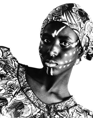 Visage sculpté, 1985
