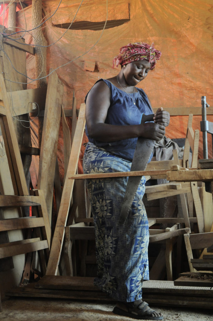Mère courage, Lubumbashi, RDC 2015