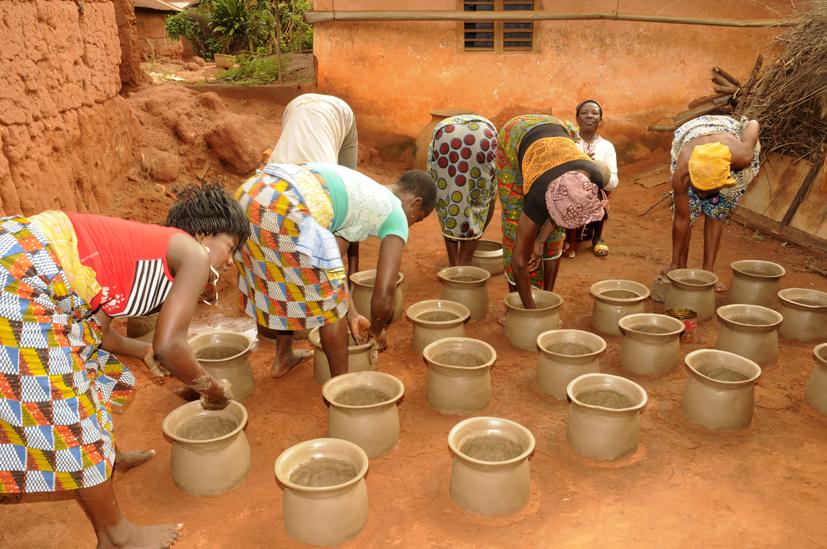 Les potières de Djakotomey 1, Bénin 2013