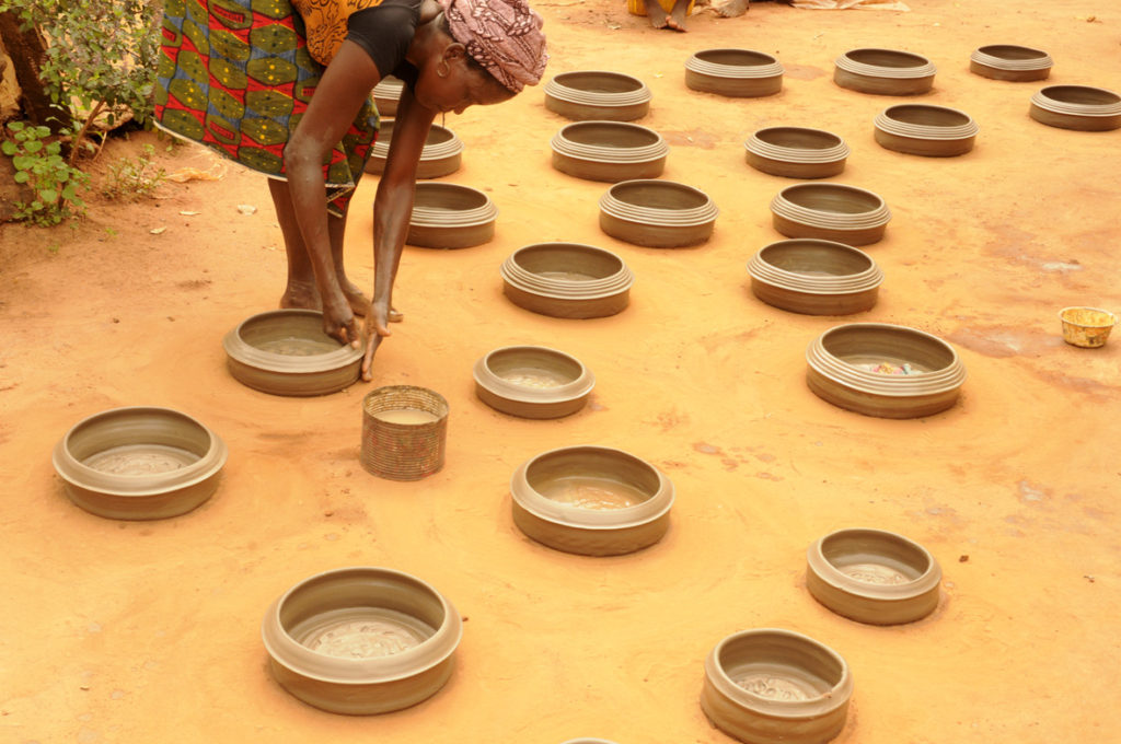 Les potières de Djakotomey 2, Bénin 2013