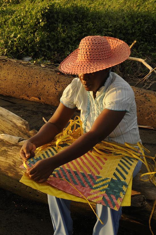 Les tisseuses 2, Guapi, Colombie 2010