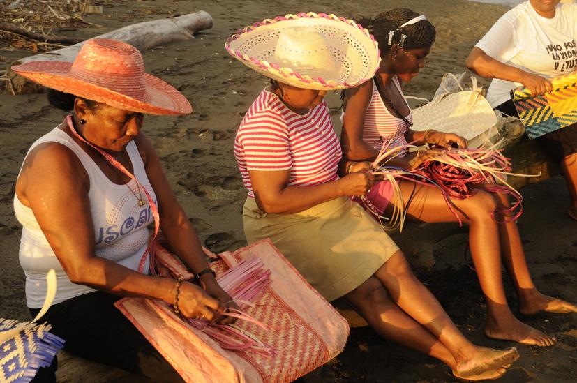 Les tisseuses, Guapi, Colombie 2010