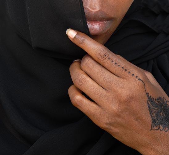 Ecriture au henné 1, 2006