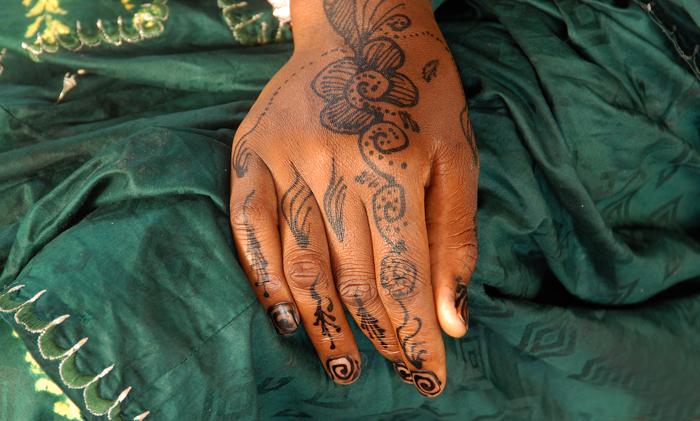 Ecriture au henné 13, 2009