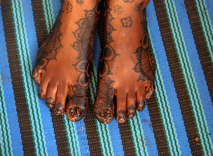Ecriture au henné 15, 2009