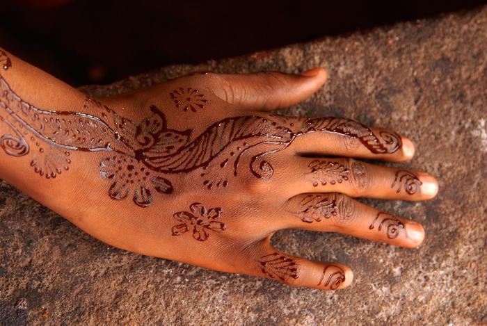Ecriture au henné 23, 2009