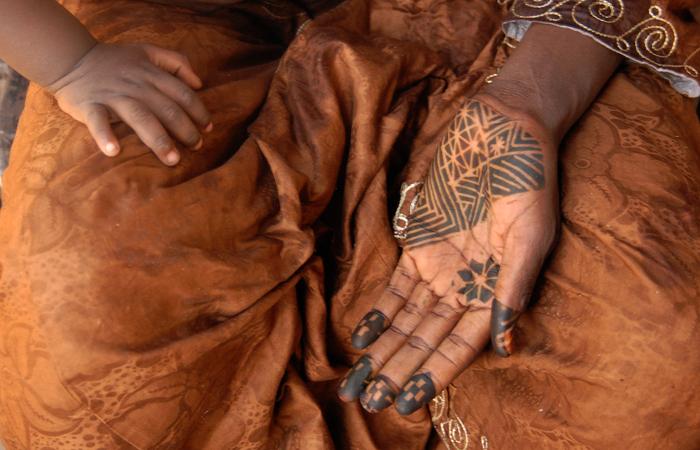 Ecriture au henné 24, 2009