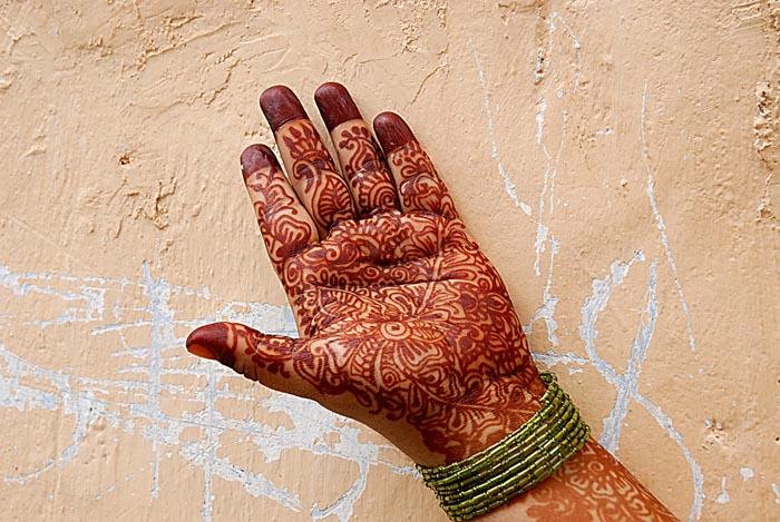 Ecriture au henné Zanzibar 2, 2007