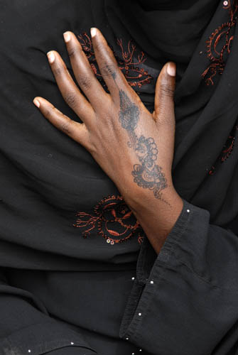 Ecriture au henné 6, 2007