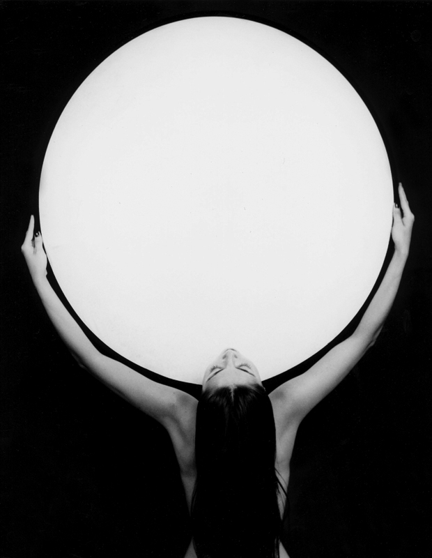 Femme portant l'univers 2, 1993