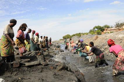 A la recherche de l'or noir 3, mine de Kipushi, RDC 2015