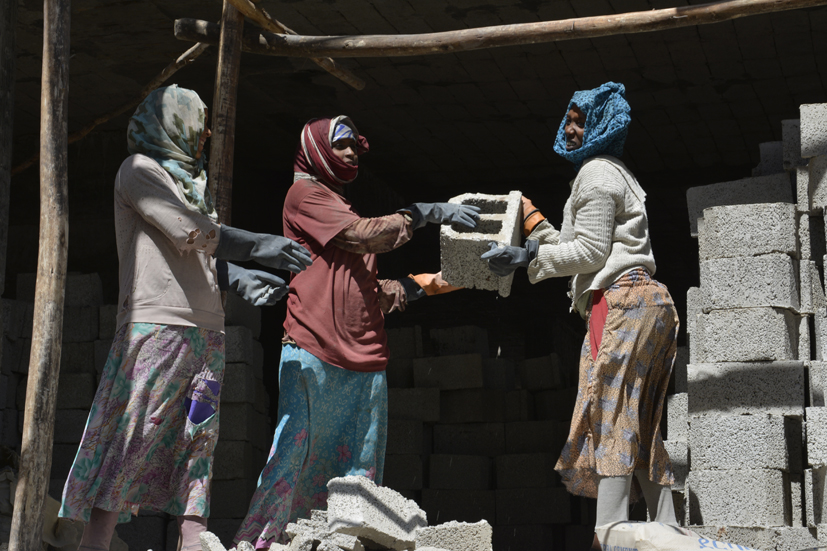 Les bâtisseuses, Addis Ethiopie 2014