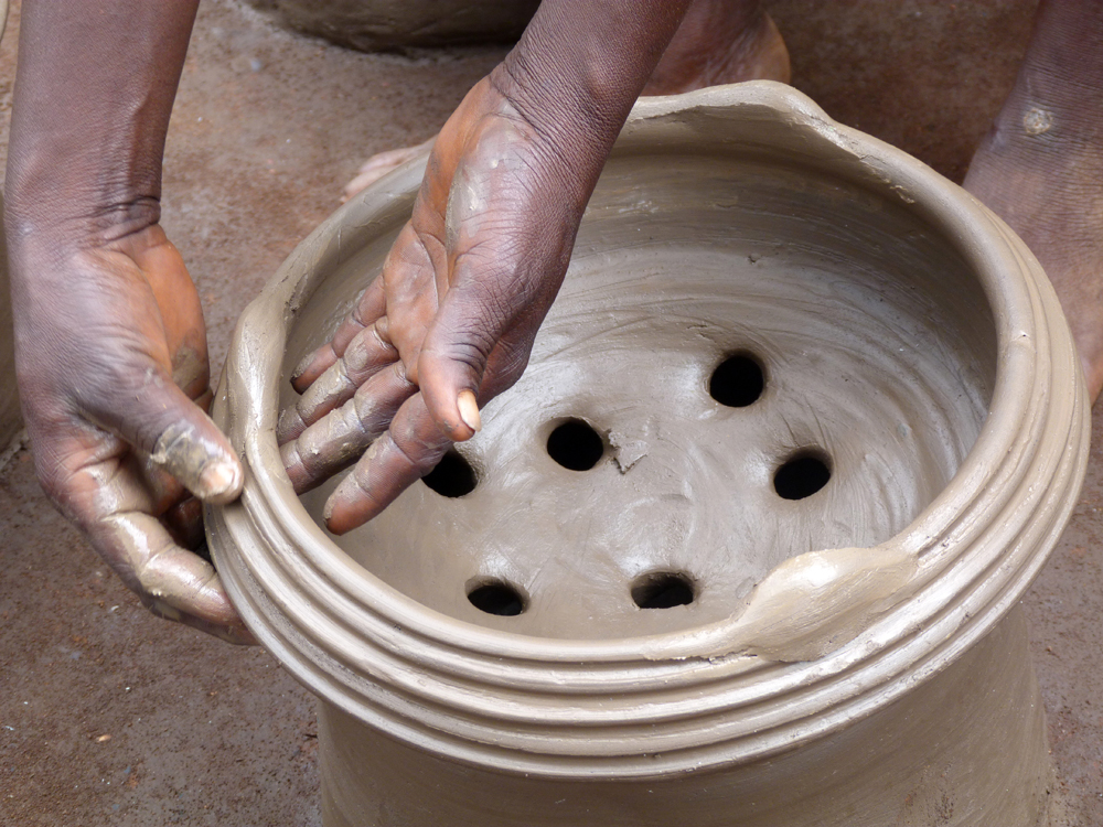 Potière de Djakotomey 3, Bénin 2013